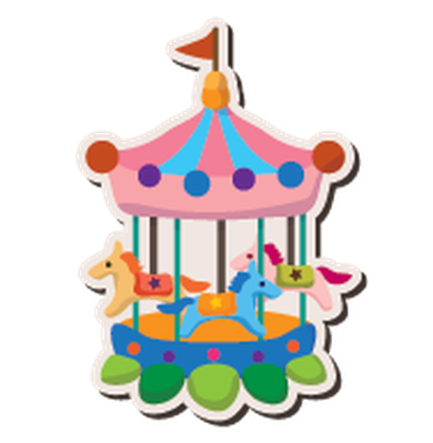 Cartoon Playground Stickers - 5 | Clipart