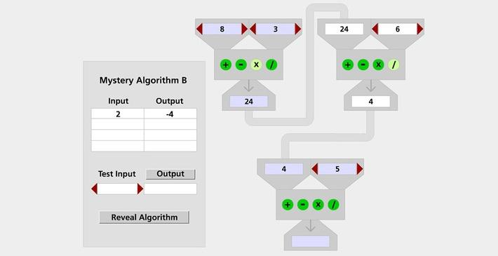 Comparing Algorithms: Guess My Rule