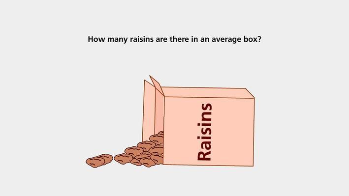 Counting Raisins