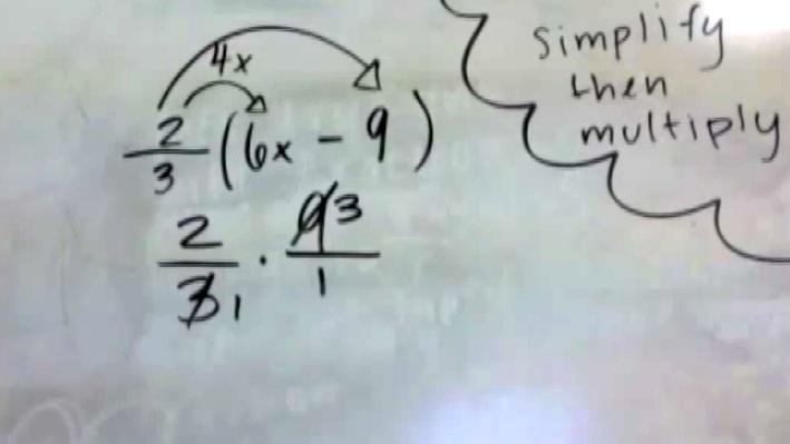 Simplifying an Algebraic Expression