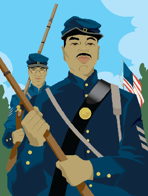 Civil War Soldiers | Clipart