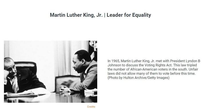Martin Luther King, Jr. | Leader for Equality