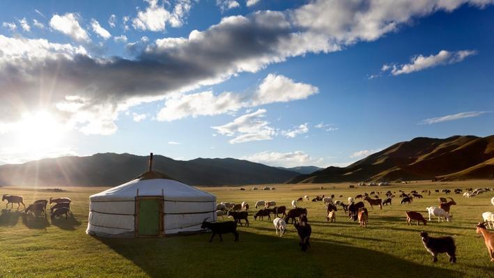 Mongolian Folk Dance