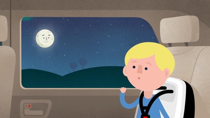 Schau mal, der Mond | Abenteuer
