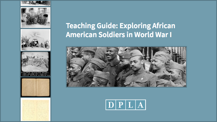 Teaching Guide: Exploring African American Soldiers in World War I