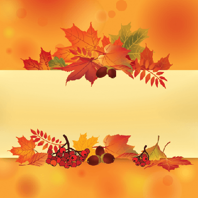 Background: Autumn Leaves | Clipart