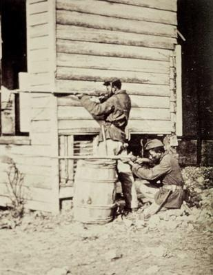 Armed African American Union soldiers