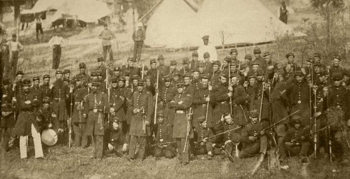 U.S. Third Connecticut infantry, 1861