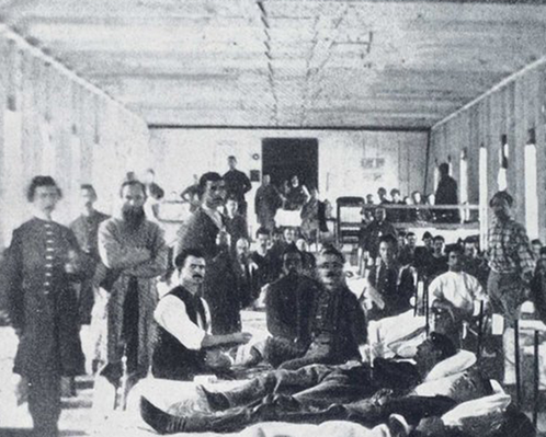 Hospital Ward, Convalescent Camp, Alexandria, VA