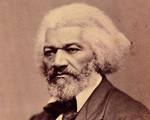 Frederick Douglass (1818-1895), an African American abolitionist and activist. 