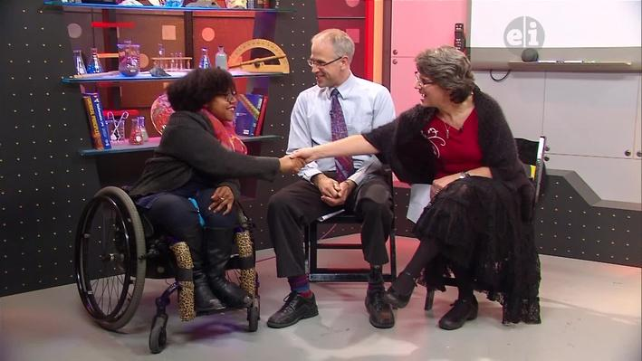 Interivew with Luticha Doucette on the Homework Hotline show set in Rochester, NY