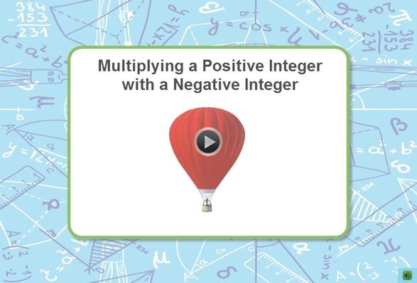 Thinkport | Multiplying a Positive Integer with a Negative Integer (interactive)