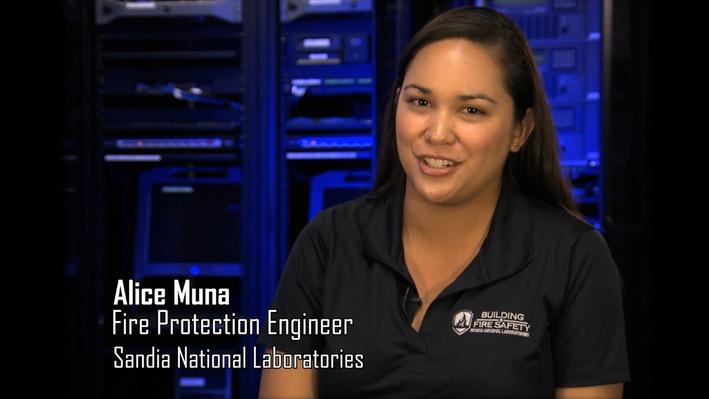 Alice Muna, Fire Protection Engineer