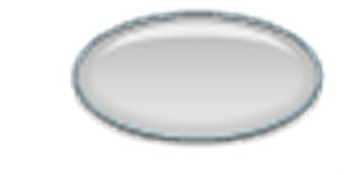 Silver Glass Buttons, Set of 43 | Clipart