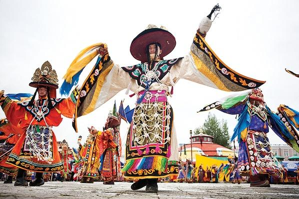 Tsam Ritual in Ulaanbaatar | Global Oneness Project