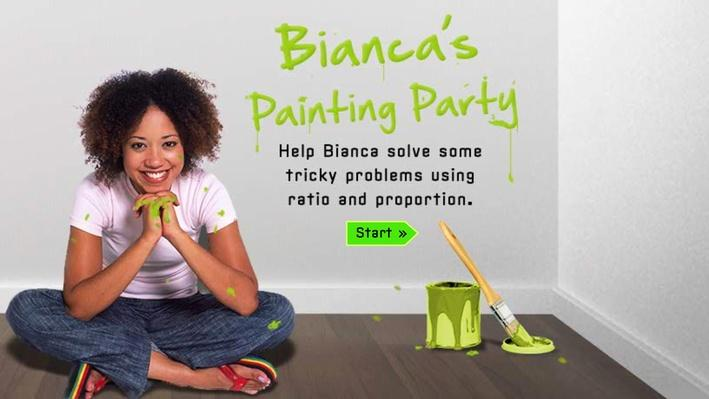 Bianca's Painting Party