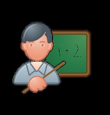 Professions - Color - Teacher | Clipart