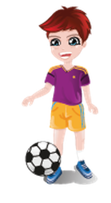 Kids Exercising and Playing Different Sports | Clipart