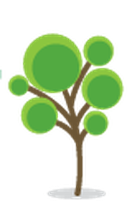 Stylized Trees - 2 | Clipart