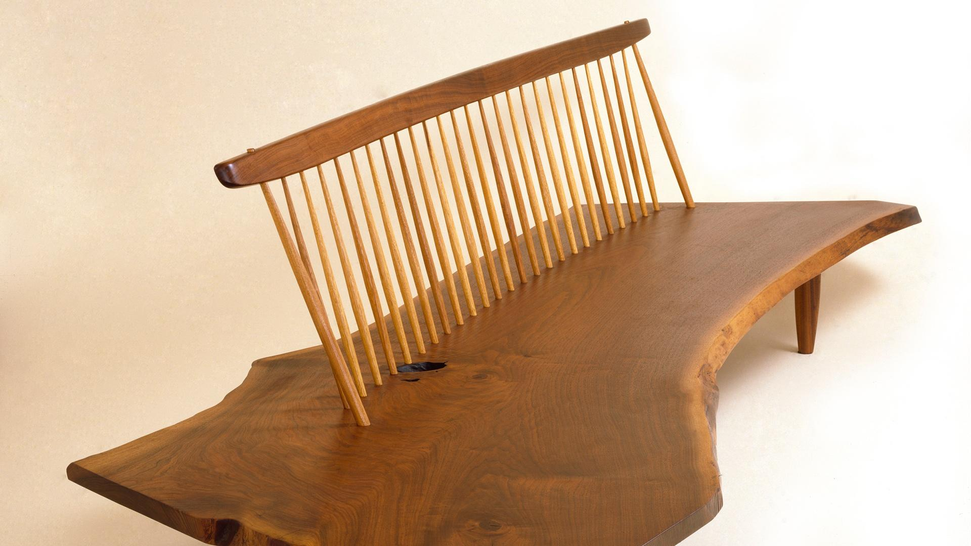 George Nakashima Segment Craft In America