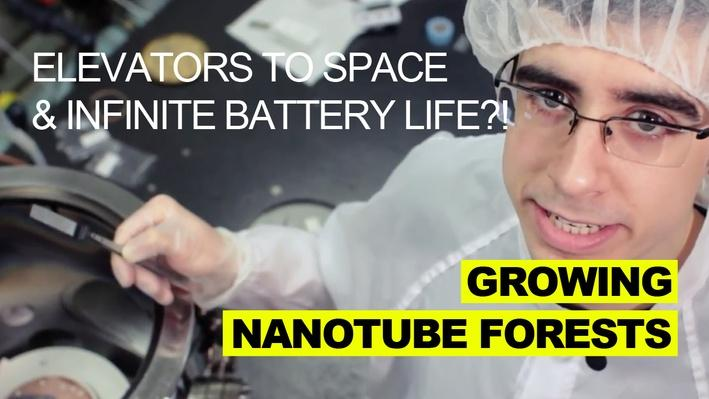 Growing Nanotube Forests   MIT's Science Out Loud