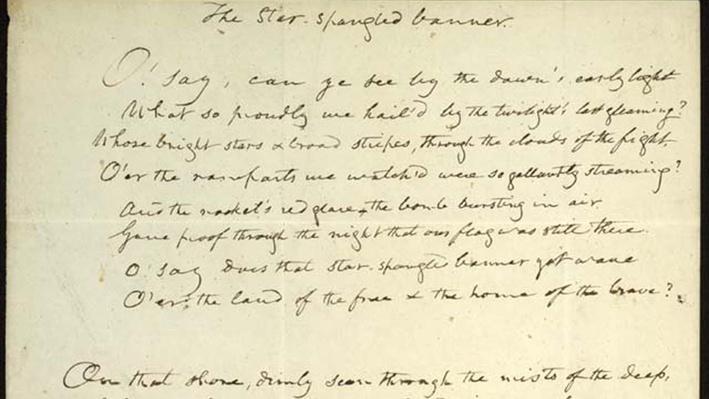 Star Spangled Banner Lyrics Image