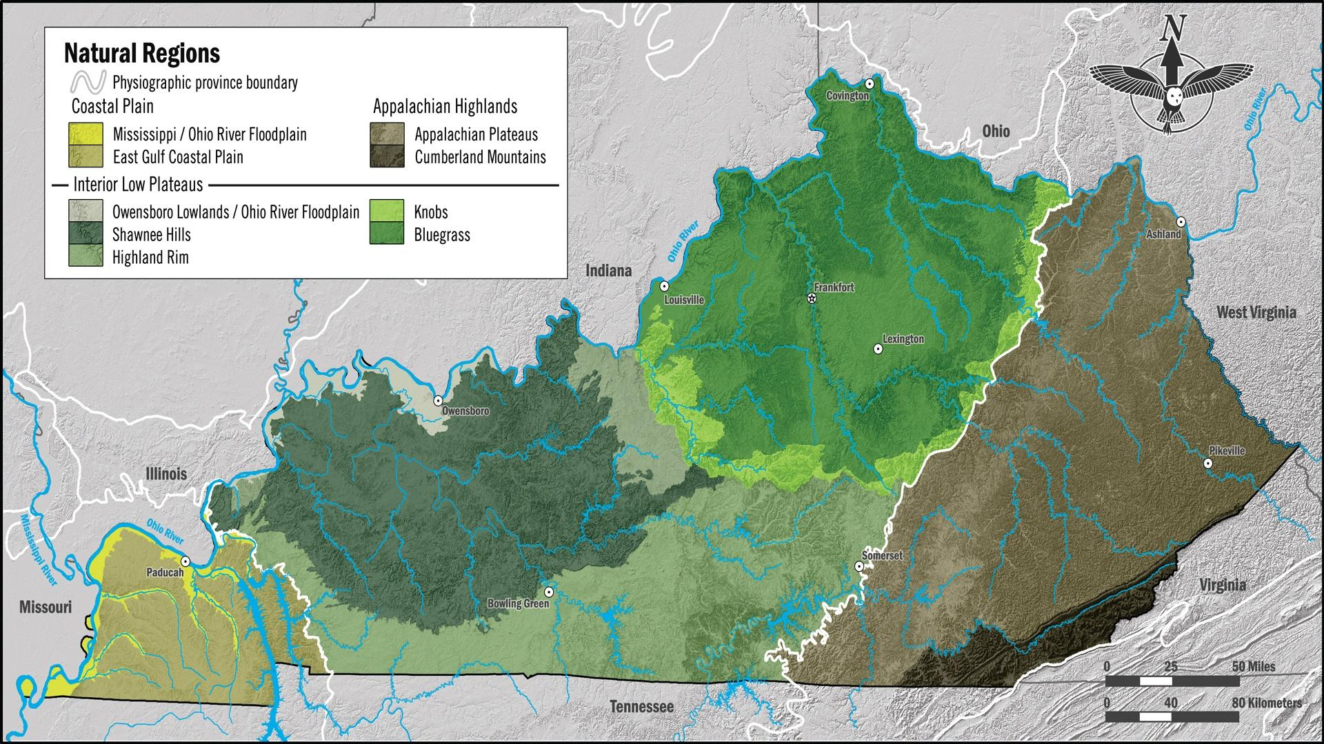 Picture of: Natural Regions Of Kentucky Pbs Learningmedia