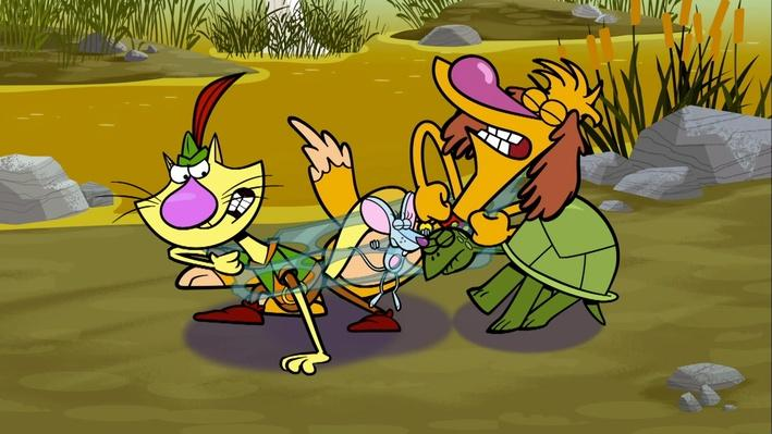 Nature Cat | Clip | Little Lizard Guy