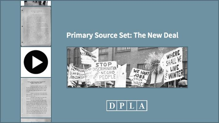 Primary Source Set: The New Deal