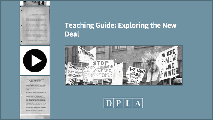 Teaching Guide: Exploring the New Deal