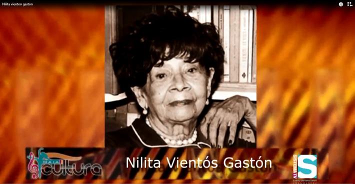 Si a la Cultura: Próceres de nuestra cultura-Nilita Vientós Gastón