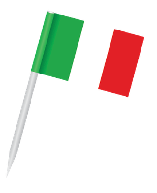 Popular Flags - Italy | Clipart