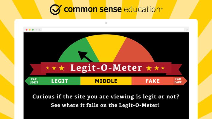 Handout: Legit-O-Meter