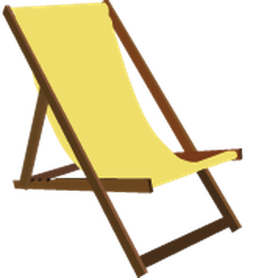 Summer Beach Set - Beach Chair | Clipart