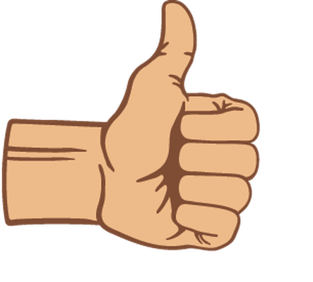 Thumbs Up | Clipart