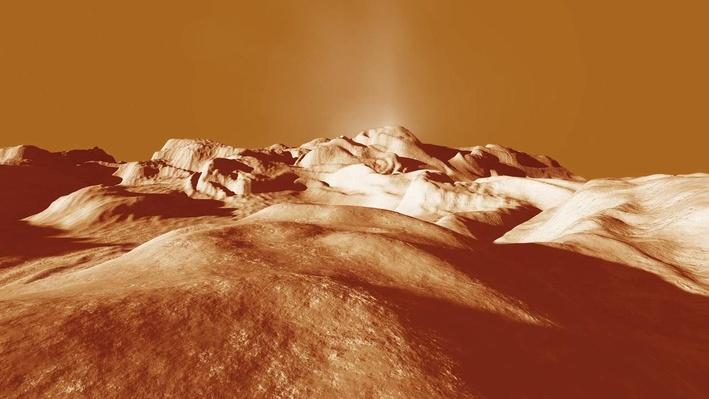 Possible Ice Volcano on Titan