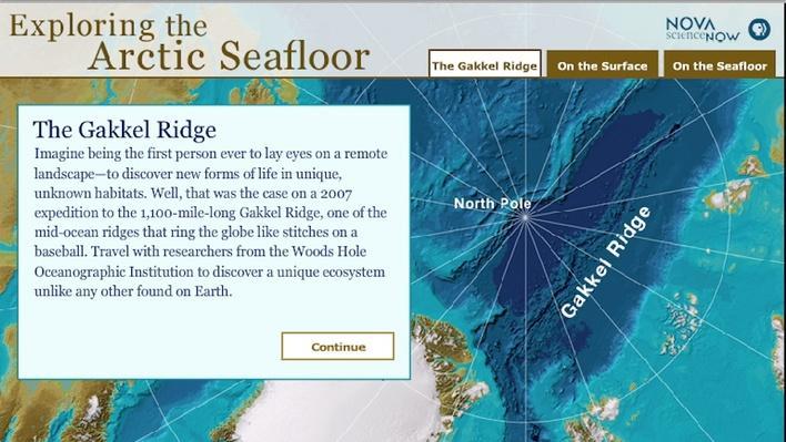 Exploring the Arctic Seafloor