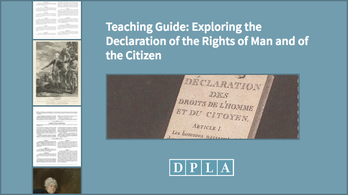 Teaching Guide: Exploring the Declaration of the Rights of Man and of the Citizen