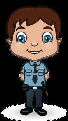 Children Police Set 1 | Clipart