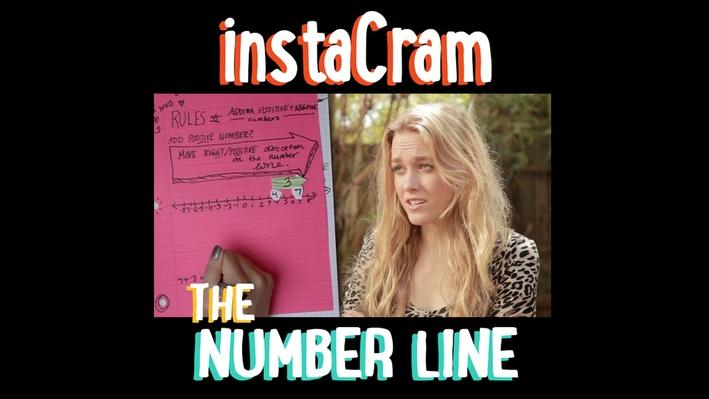 InstaCram: The Number Line
