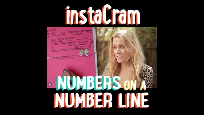 Numbers on a Number Line | PBS Math Club: InstaCram