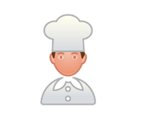 Professions - Color - Chef | Clipart