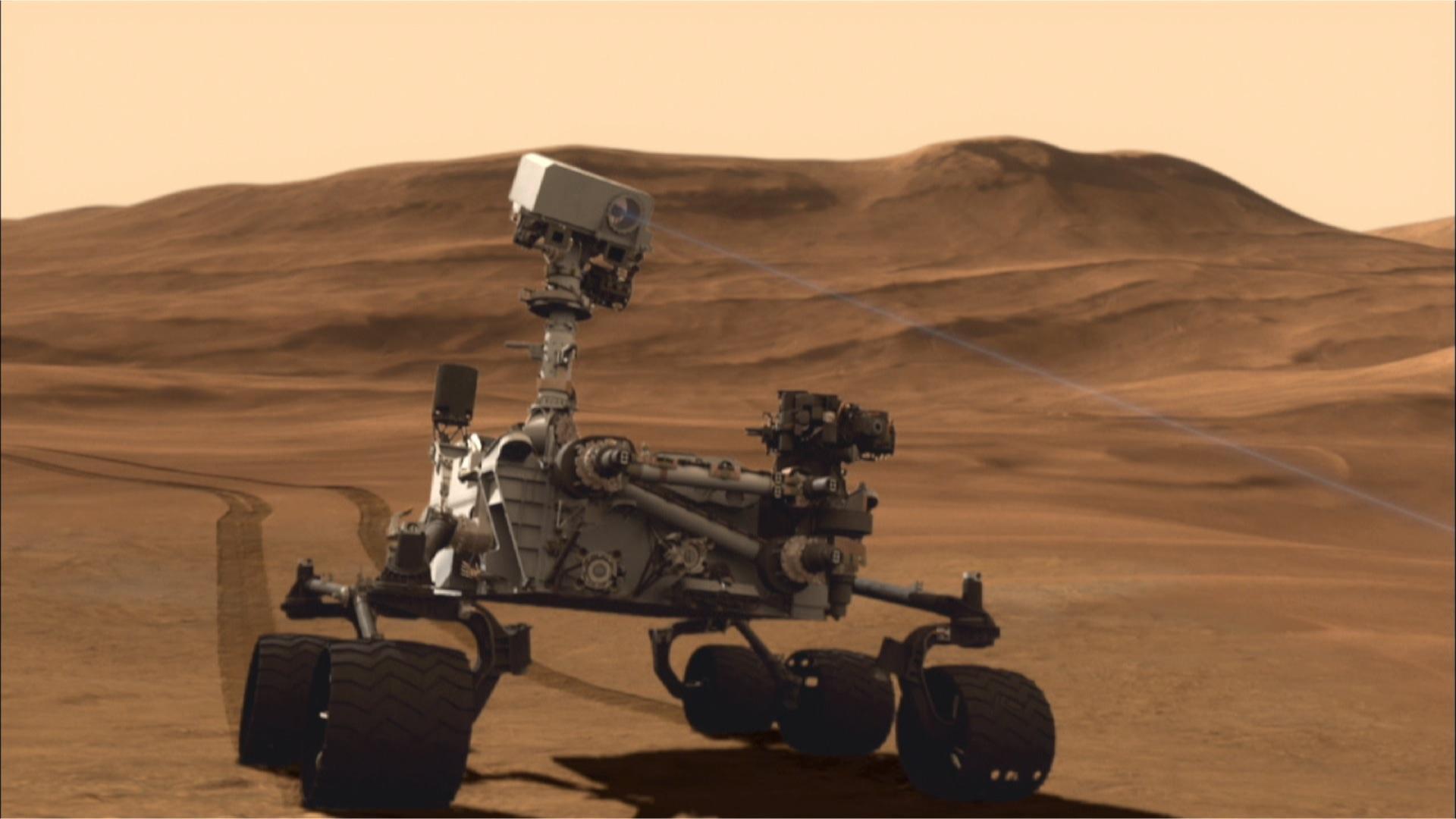 Curiosity: A Robotic Geologist