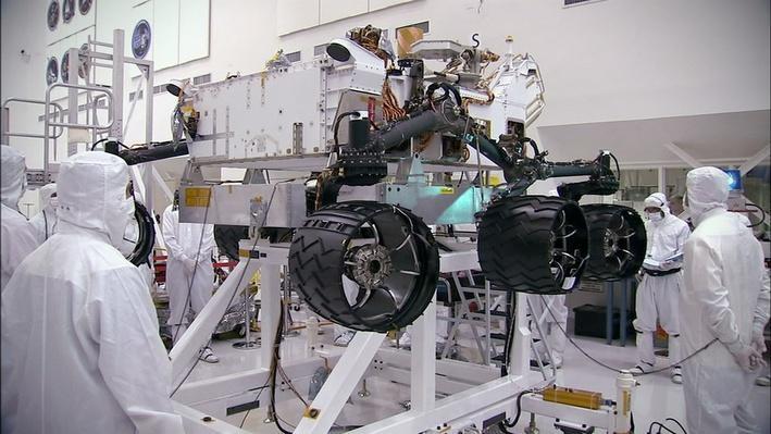 Engineering Curiosity's Landing
