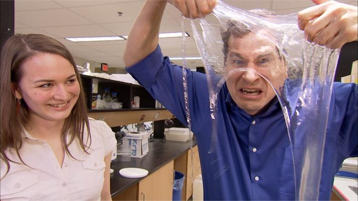 Fabric From Hagfish Slime
