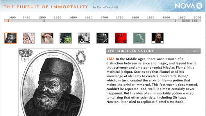The Pursuit of Immortality