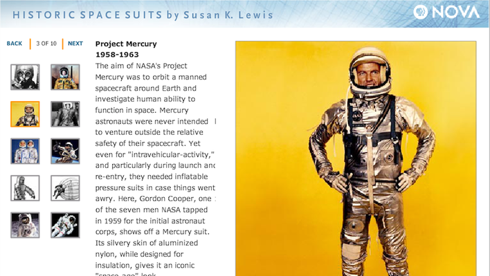 Historic Space Suits
