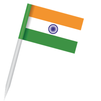 Popular Flags - India | Clipart