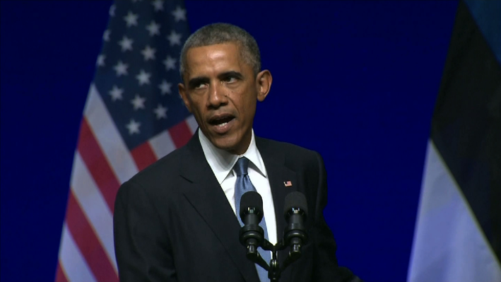 Obama Condemns Russia for Supporting Ukrainian Separatists - Video
