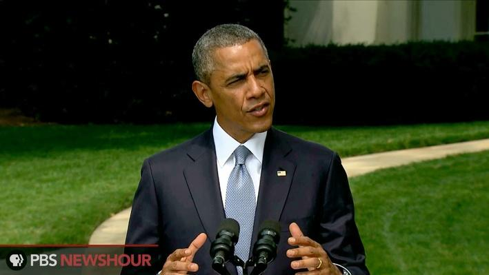 Obama Calls for Full Cooperation at Malaysia Airlines Crash Site Video